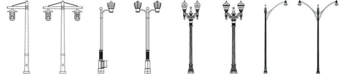 Municipal Series - Cast Iron and Steel Poles