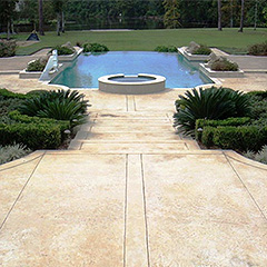 Exterior Decorative Concrete Finishes