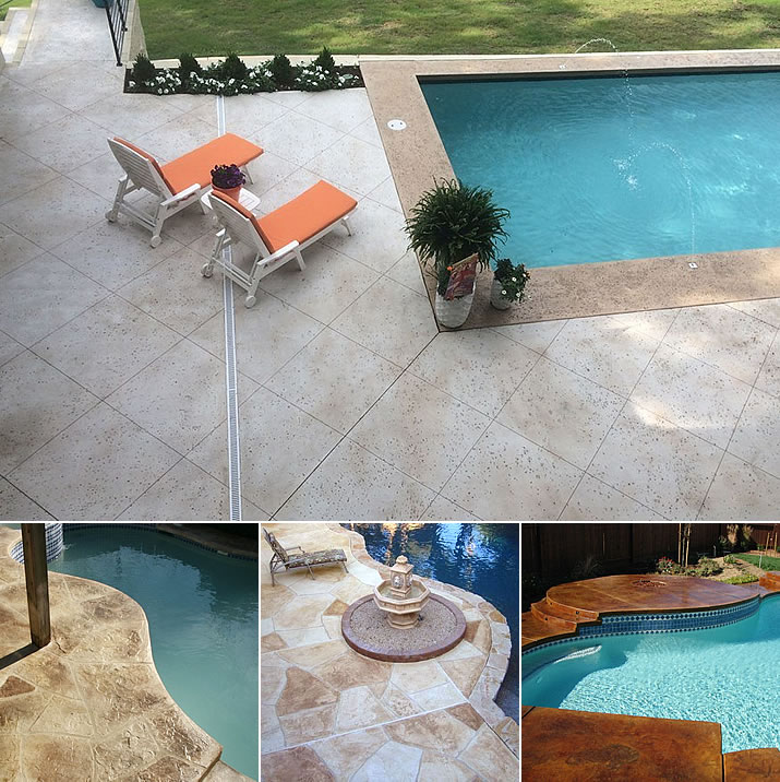 Pool Deck Coatings & Finishes